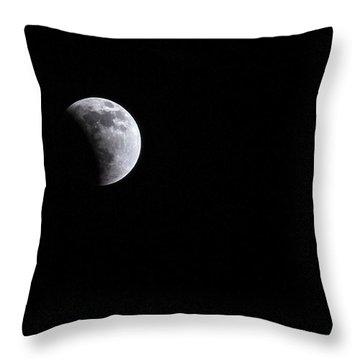 Lunar Night By Denise Dube Throw Pillow