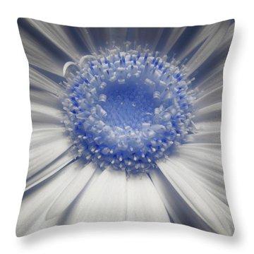 Lunar Daisy Throw Pillow