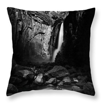 Lunar Glow Throw Pillow