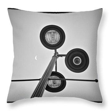 Lunar Lamp - Art Unexpected Throw Pillow