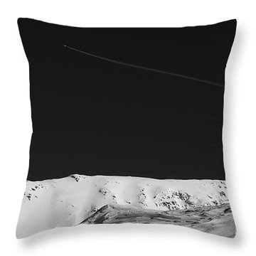 Lunar Landscape Throw Pillow