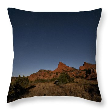 Lunascape Throw Pillow