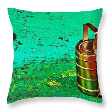 Lunch Box Throw Pillow