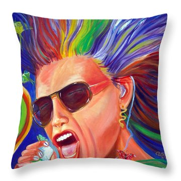 Lunesta Throw Pillow by To-Tam Gerwe