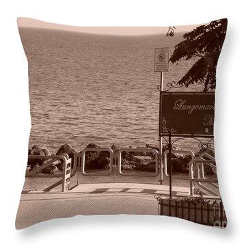 Lungomare Mazzini Throw Pillow