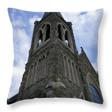 Throw Pillow featuring the photograph Luray Chapel by Laurie Perry