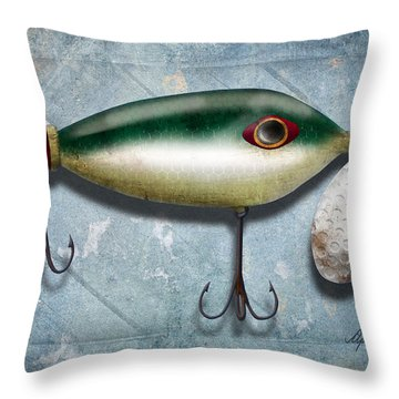 Lure I Throw Pillow