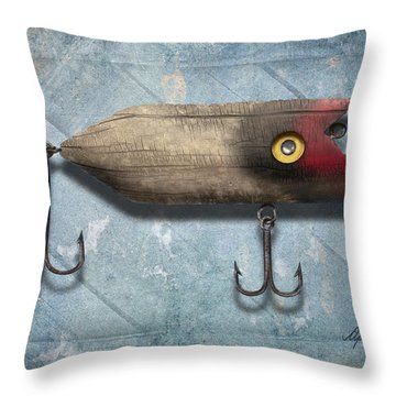 Lure II Throw Pillow