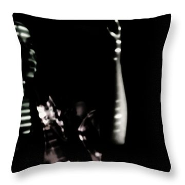 Throw Pillow featuring the photograph Lurid  by Jessica Shelton
