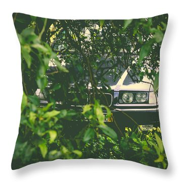 Lurking I Throw Pillow by Marco Oliveira