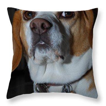 Lus Throw Pillow
