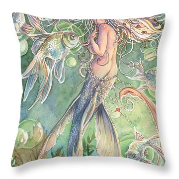 Lusinga Throw Pillow by Sara Burrier
