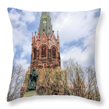 Luther Place Throw Pillow