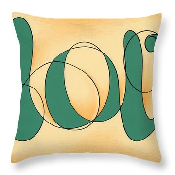 Luv Throw Pillow