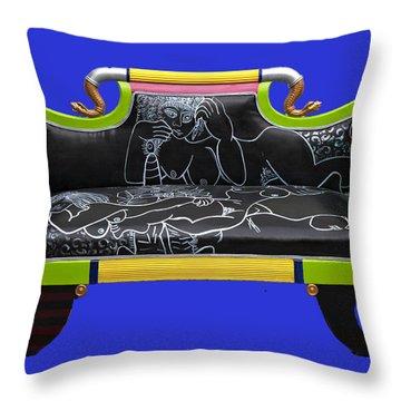 Luv Seat Throw Pillow