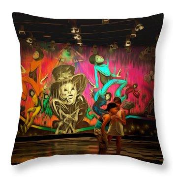 Luxor For Children Throw Pillow