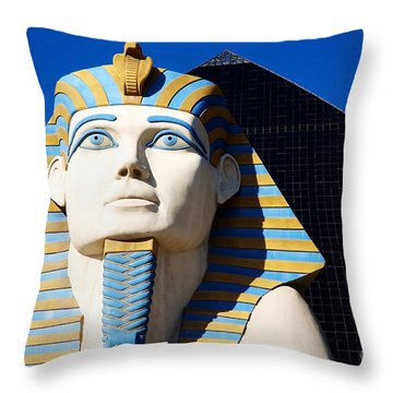 Luxor Las Vegas Sphinx Throw Pillow