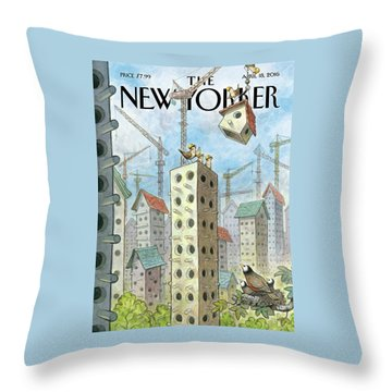 Luxury Coops Throw Pillow