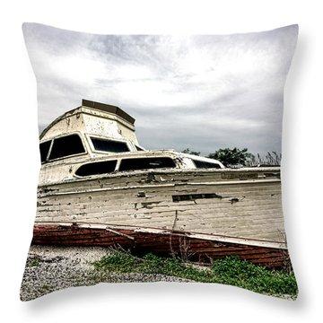Luxury Past Throw Pillow