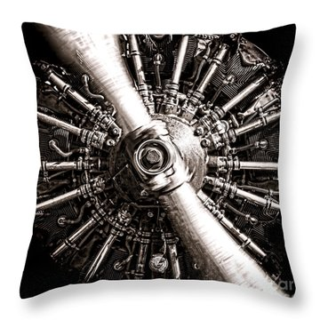 Lycoming  Throw Pillow
