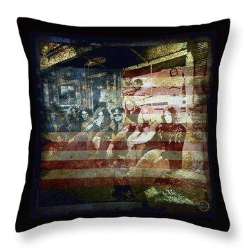 Lynyrd Skynyrd - Simple Man Throw Pillow