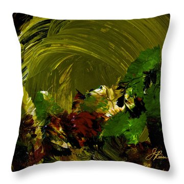 Intuitive Painting  803 Throw Pillow