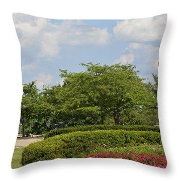Lytle Park Cincinnati Throw Pillow
