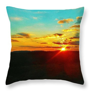 Throw Pillow featuring the photograph M-50 by Daniel Thompson