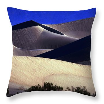 M E S Q U I T E D  Throw Pillow by Joe Schofield