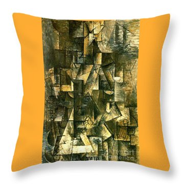 Ma Jolie Throw Pillow by Pg Reproductions