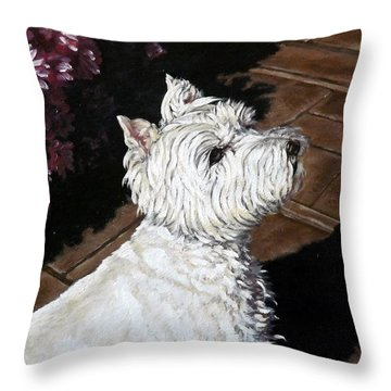 Mac Throw Pillow