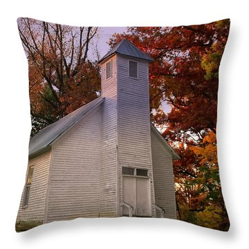 Macedonia Missionary Baptist Church Throw Pillow