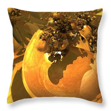 Machina Transforma Throw Pillow