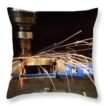 Machining Throw Pillow