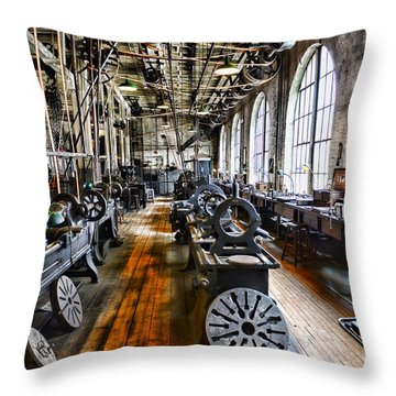 Machinist - Precision Matters Throw Pillow