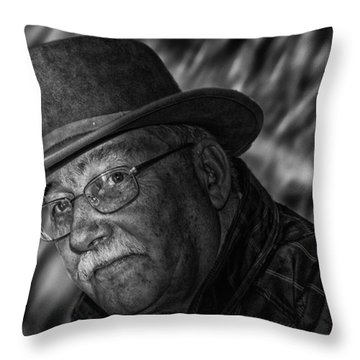 Macho Man Throw Pillow
