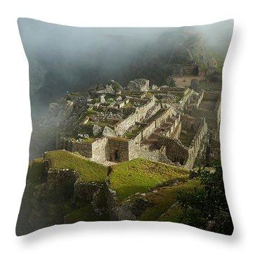 Machu Picchu Peru 2 Throw Pillow