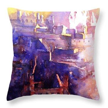 Machu Pichu- Peru Throw Pillow