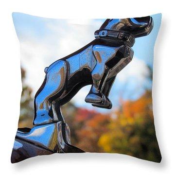 Mack Bulldog Throw Pillow