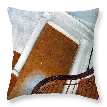 Throw Pillow featuring the photograph Mad Architecture by Marc Philippe Joly