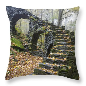 Madame Sherri Forest - Chesterfield New Hampshire Usa Throw Pillow