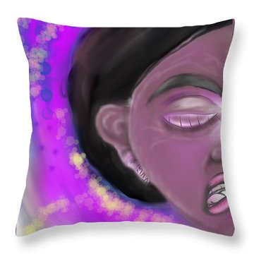 Mad About It Throw Pillow