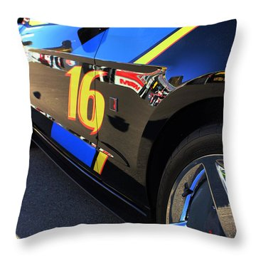 Throw Pillow featuring the photograph Made For Speed by Natalie Ortiz