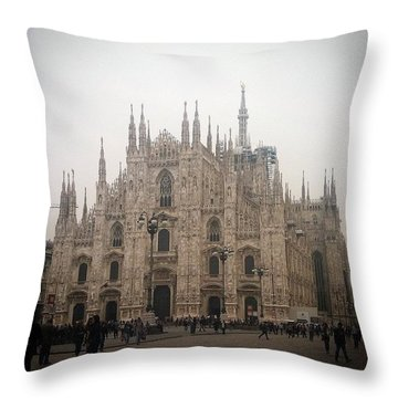 The Duomo Throw Pillow