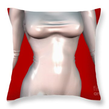 Mademoiselle Contenu Premiere A Throw Pillow