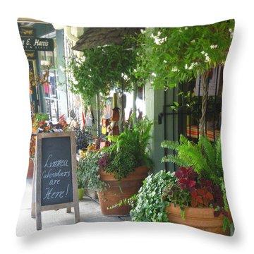 Madison Valley Street Scene 2 Throw Pillow