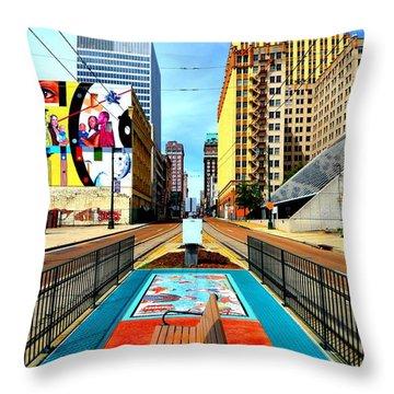 Madison's Memphis Throw Pillow