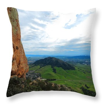 Madonna Throw Pillow by Paul Foutz