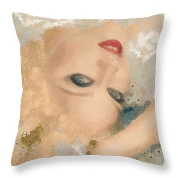 Madonna Wow Throw Pillow