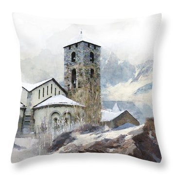 Madriu Perafita Claror Valley Throw Pillow by Catf